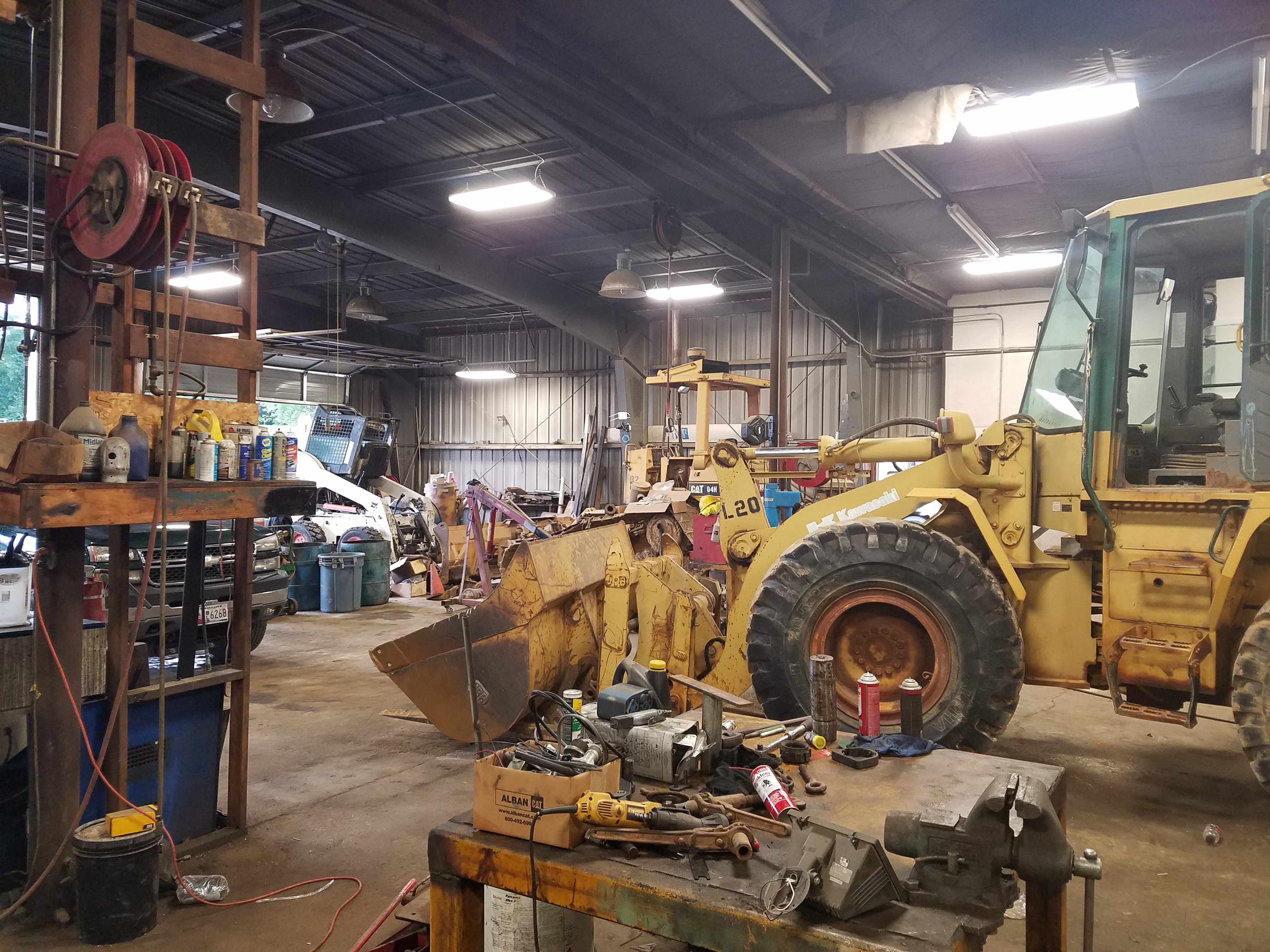 Sheehy Infiniti Of Annapolis >> Bosley's Construction Shop Lighting Upgrade - Anthony ...
